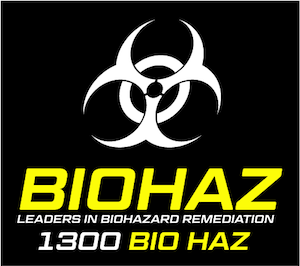 BioHaz Cleaning Australia: Biological Cleaning Services Logo